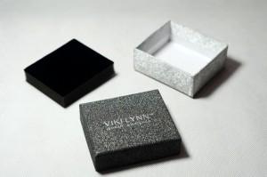 black shinning jewelry boxes