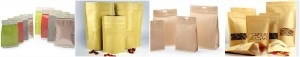 ziplock kraft paper aluminum foil bag collection