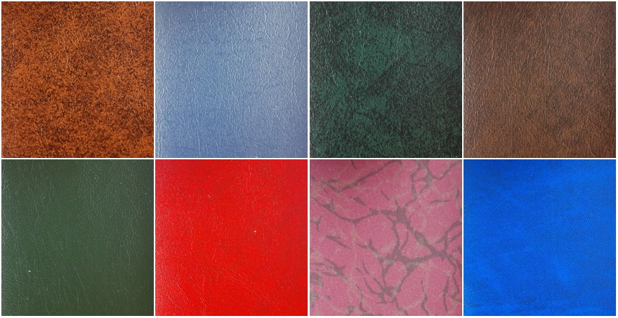 PU leather material options