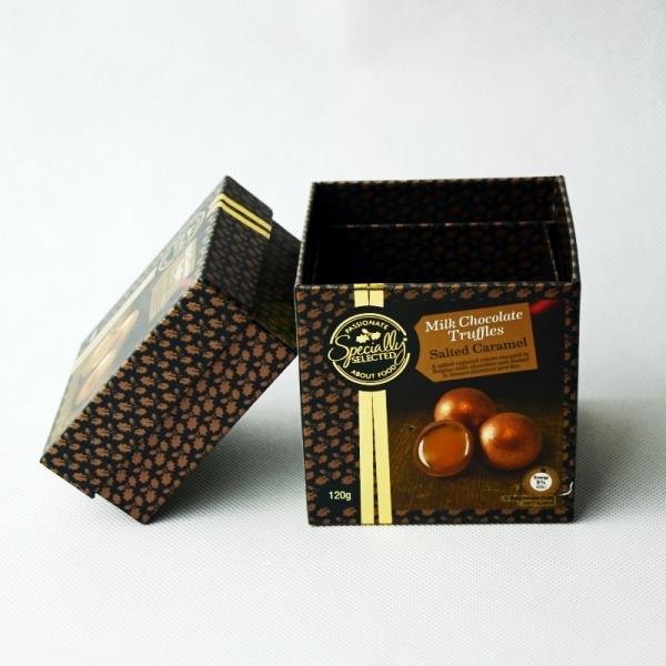 chocolate truffle packaging box