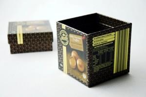 chocolate truffles paper box