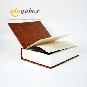traditional book look box