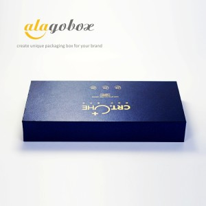 blue facial mask box