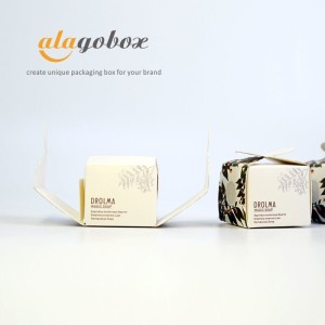 foldable soap packaging