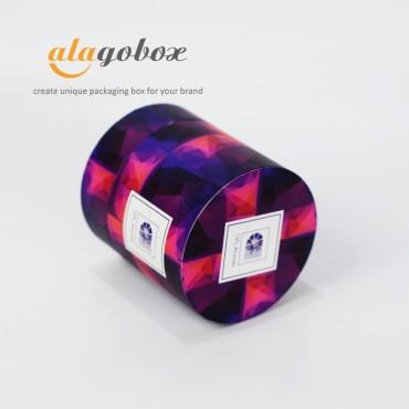 round fine fragrance box
