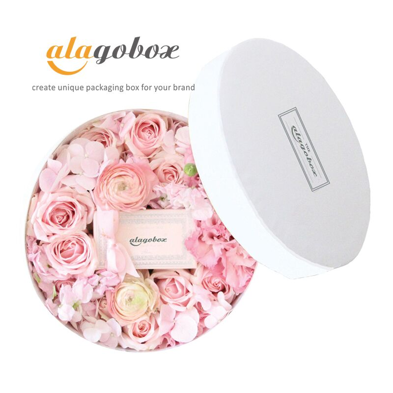 round floral boxes