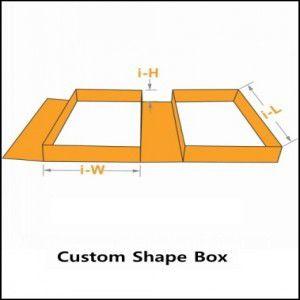 custom shape box