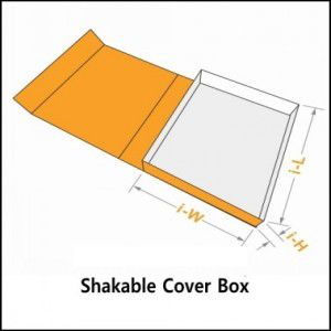 shakable cover box