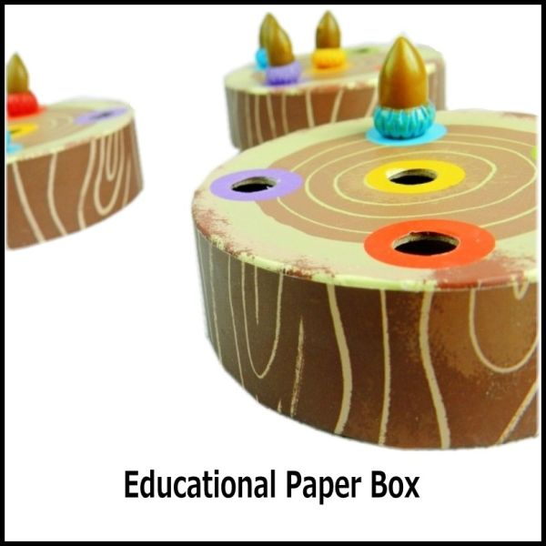 educational paper toy