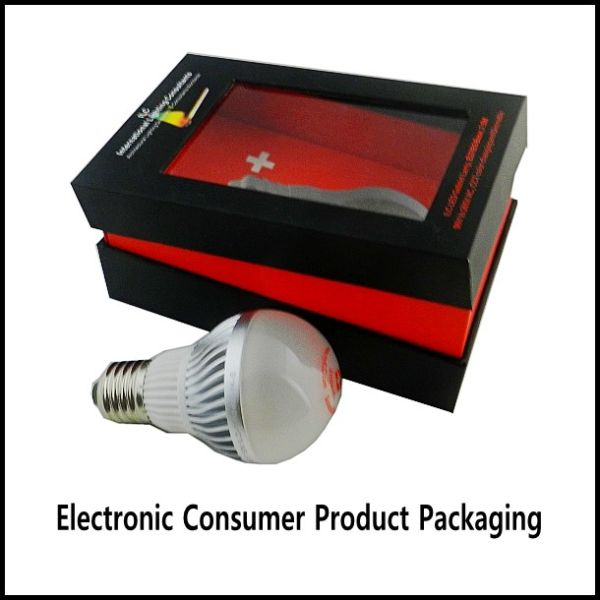 consumer electronics product packaging